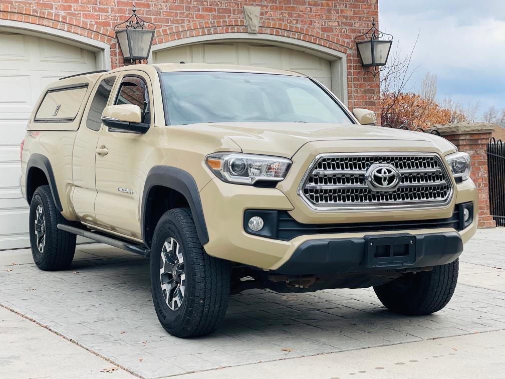Salvage cars for sale from Copart Magna, UT: 2017 Toyota Tacoma ACC