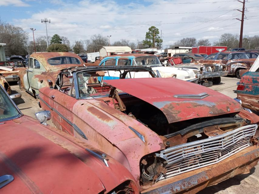 Salvage cars for sale from Copart Shreveport, LA: 1963 Ford Falcon