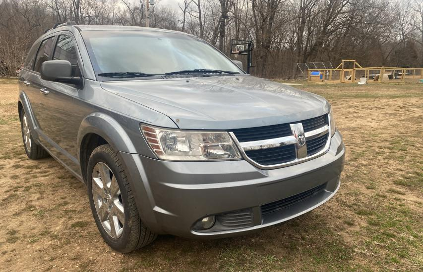Salvage cars for sale from Copart Rogersville, MO: 2009 Dodge Journey R