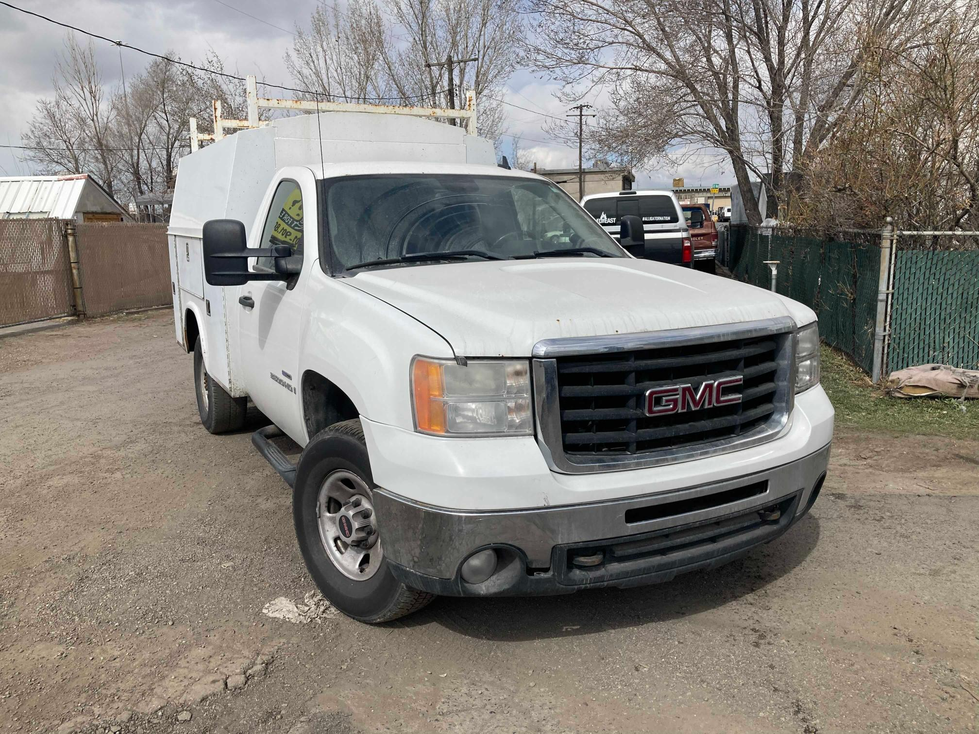 Salvage cars for sale from Copart Magna, UT: 2007 GMC Sierra K35