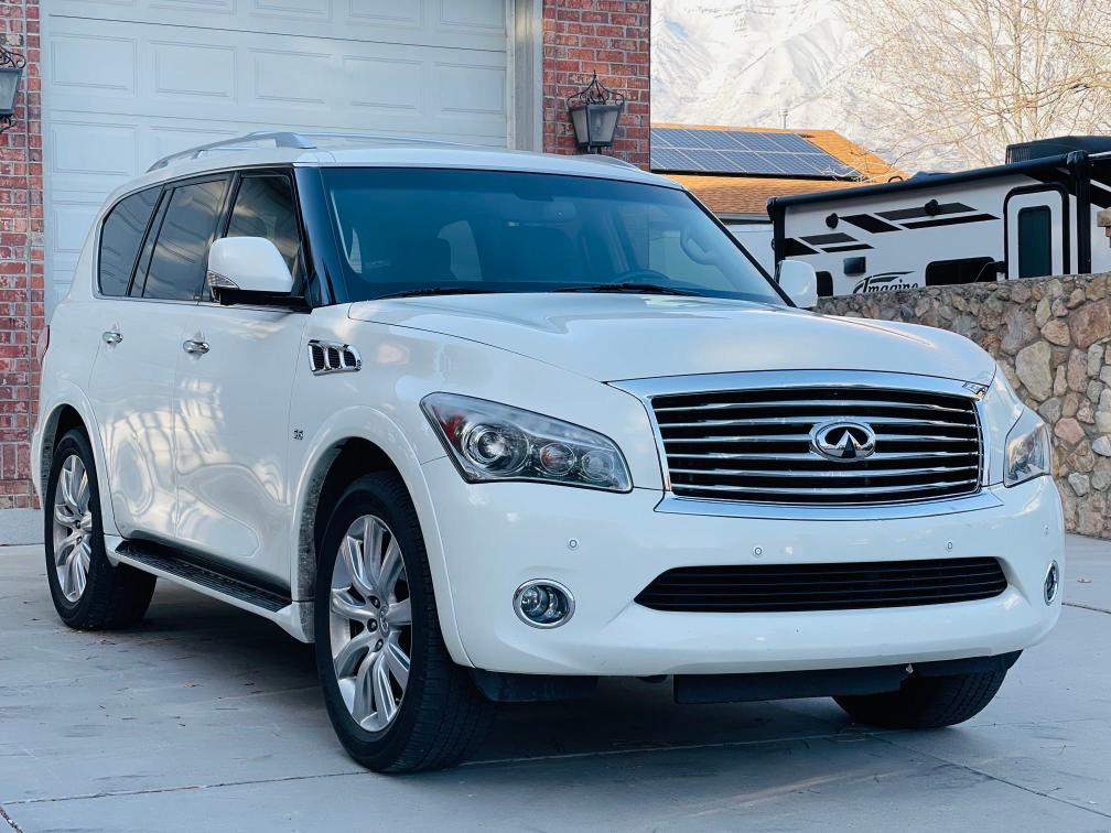 Salvage cars for sale from Copart Magna, UT: 2014 Infiniti QX80