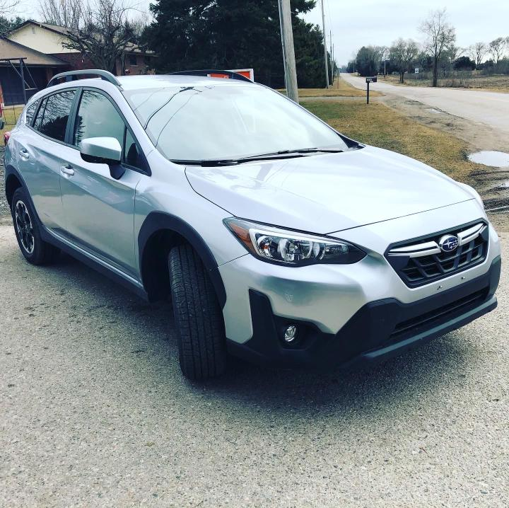 Salvage cars for sale from Copart London, ON: 2021 Subaru Crosstrek