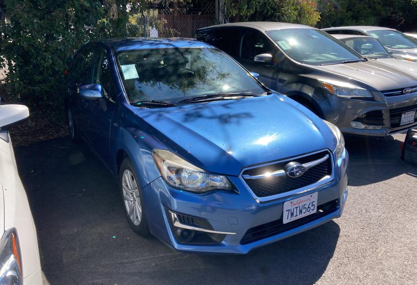 2016 Subaru Impreza PR for sale in Vallejo, CA