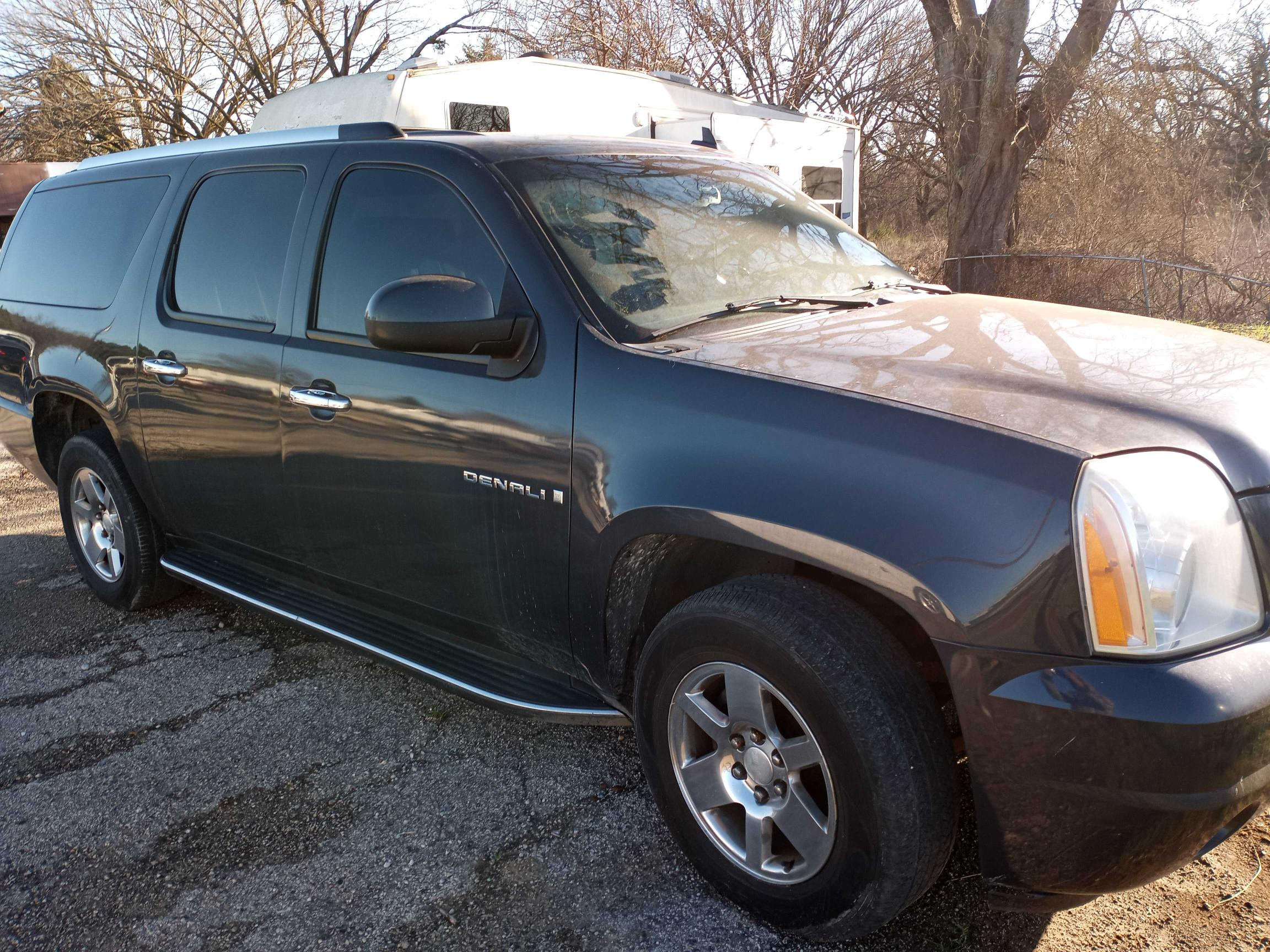 GMC salvage cars for sale: 2008 GMC Yukon XL D
