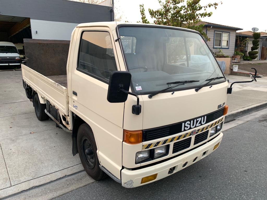 Isuzu salvage cars for sale: 1989 Isuzu Pickup