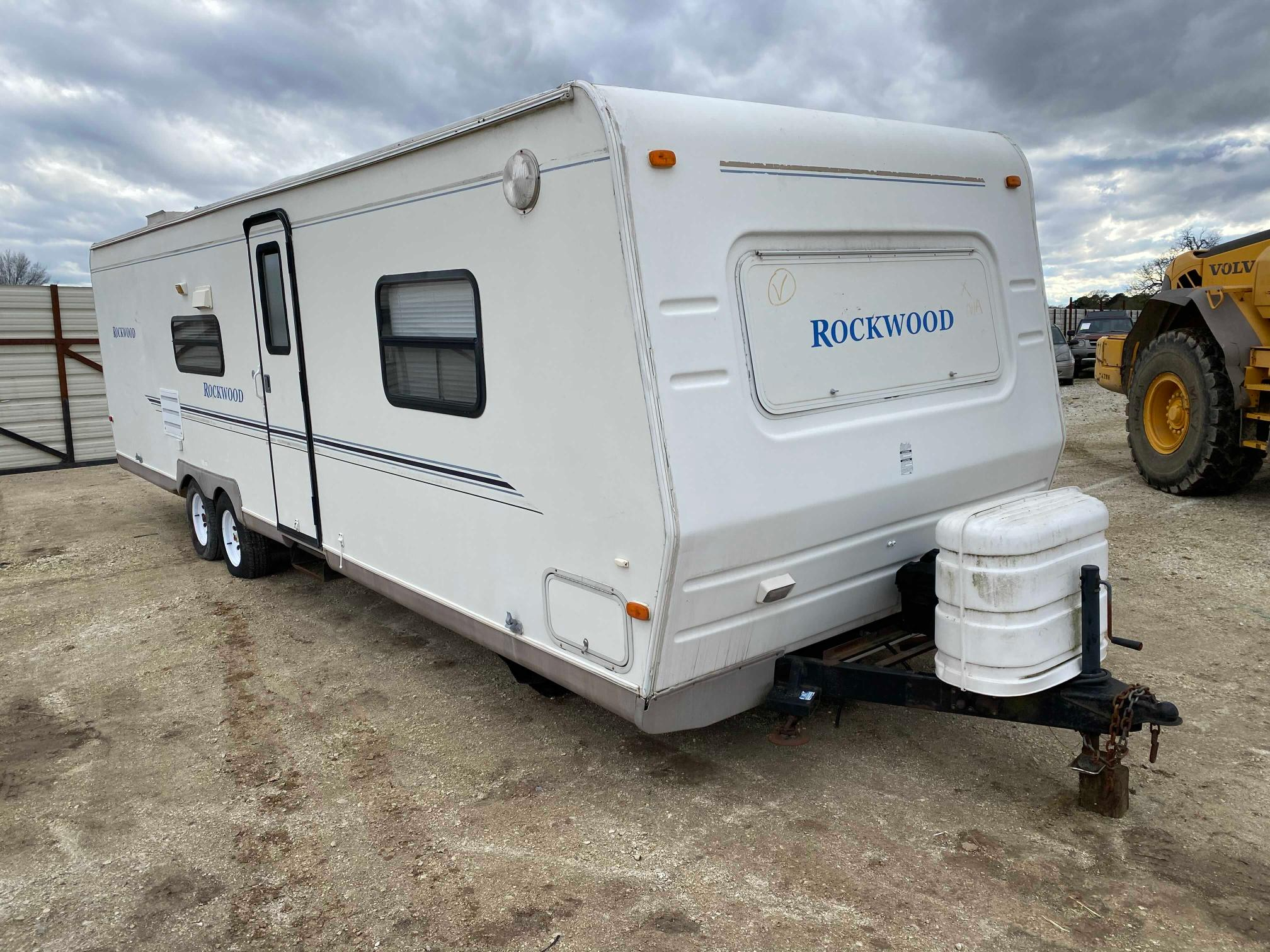 Rockwood salvage cars for sale: 2003 Rockwood Travel Trailer