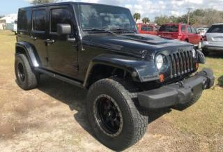 Salvage cars for sale from Copart Ocala, FL: 2012 Jeep Wrangler U