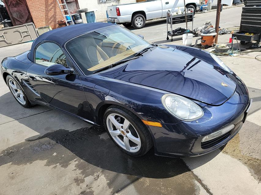 Porsche salvage cars for sale: 2007 Porsche Boxster