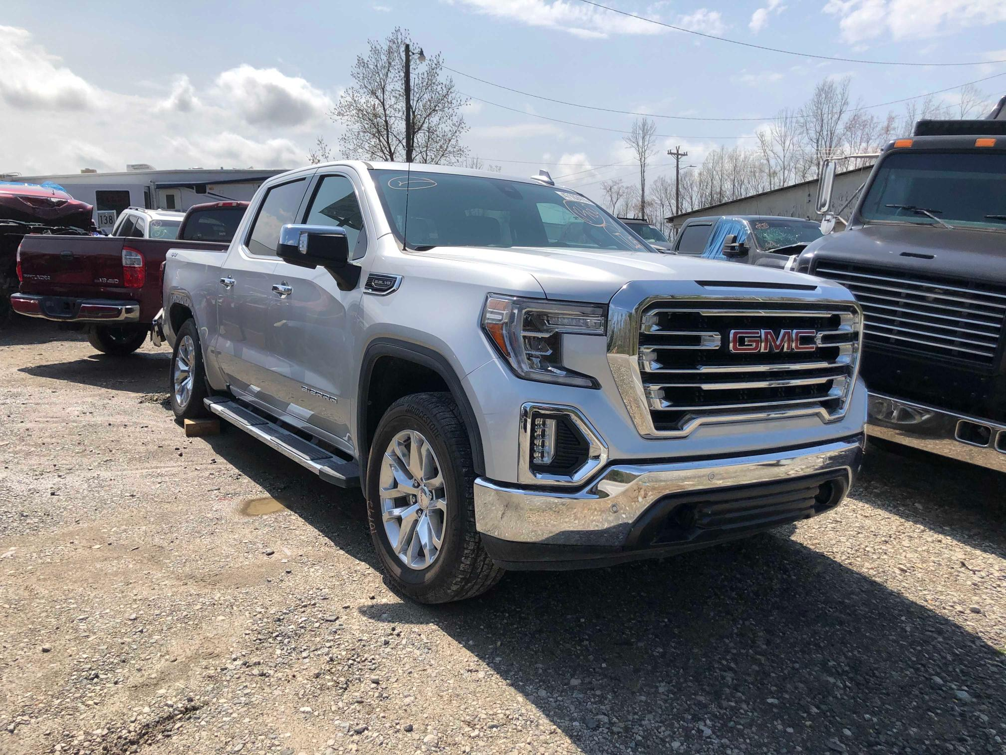 Salvage cars for sale from Copart Lebanon, TN: 2019 GMC Sierra K15