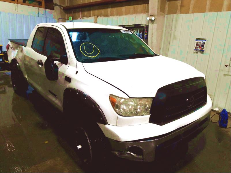 Salvage cars for sale from Copart Anchorage, AK: 2008 Toyota Tundra DOU