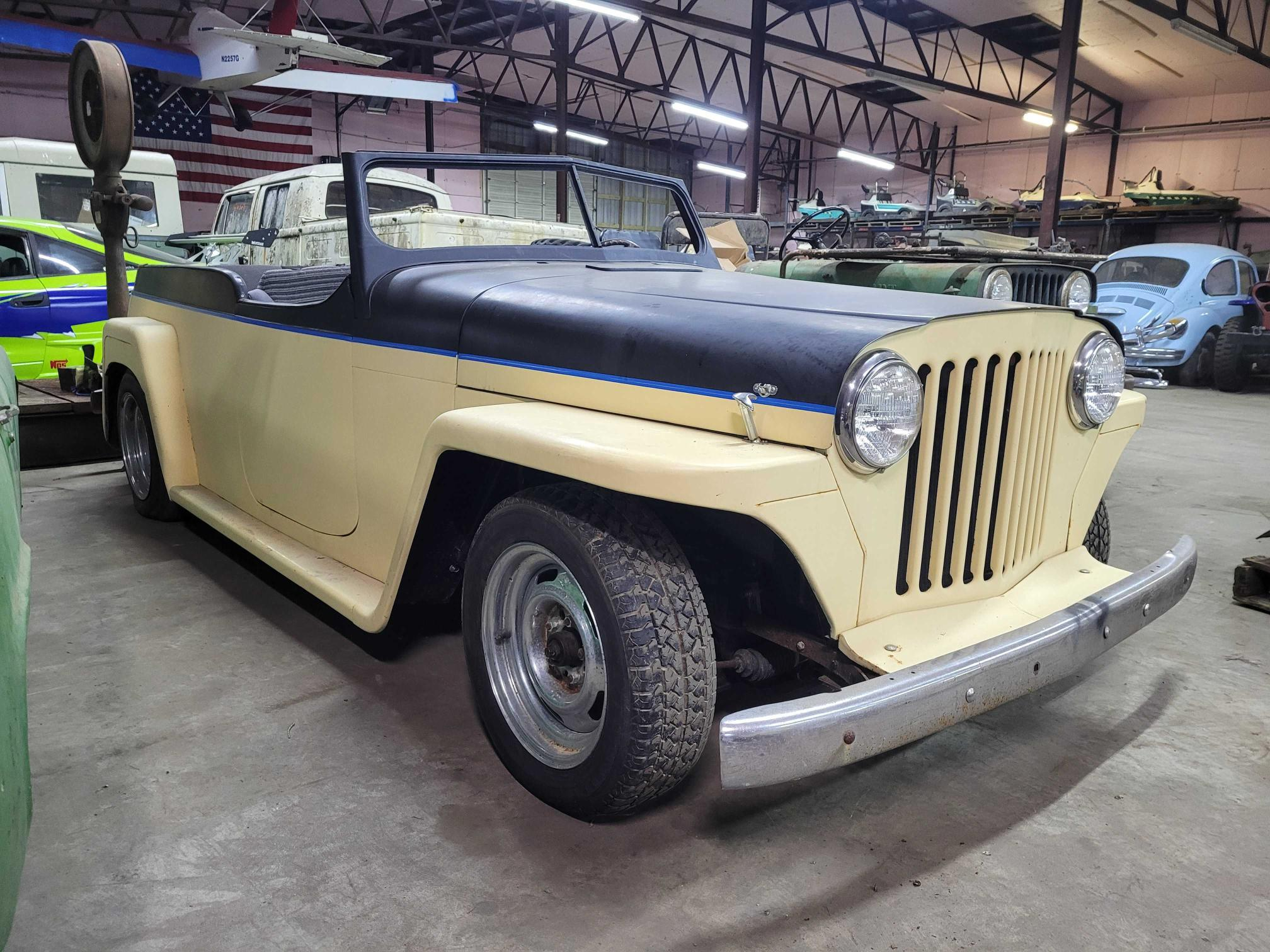 Willys salvage cars for sale: 1950 Willys Jeepster