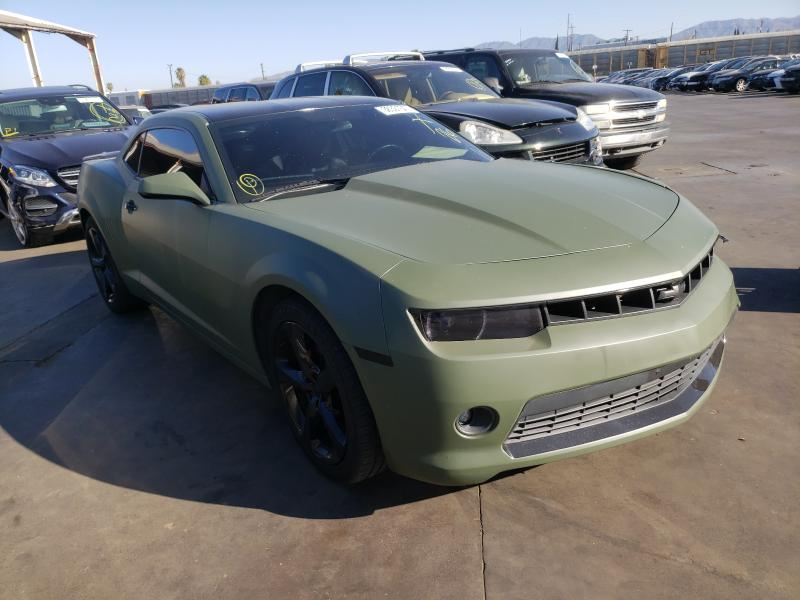 Chevrolet Camaro LT salvage cars for sale: 2014 Chevrolet Camaro LT