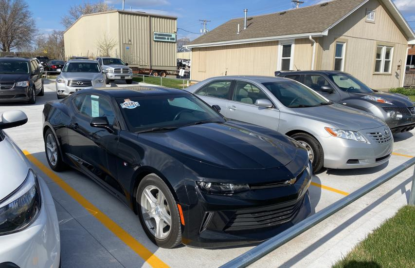 2017 Chevrolet Camaro LS en venta en Kansas City, KS