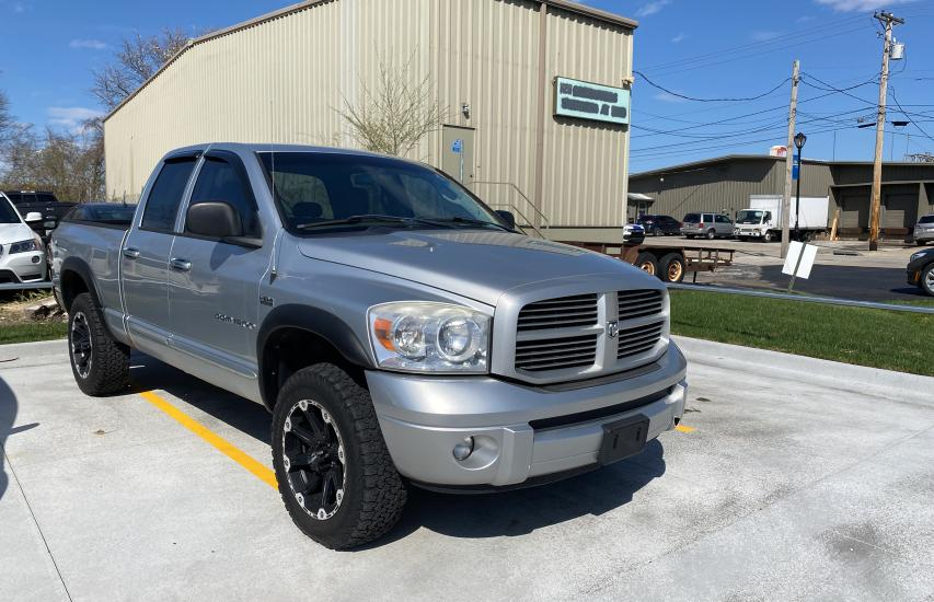 Salvage cars for sale from Copart Kansas City, KS: 2007 Dodge RAM 1500 S