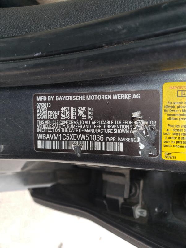 WBAVM1C5XEVW51036