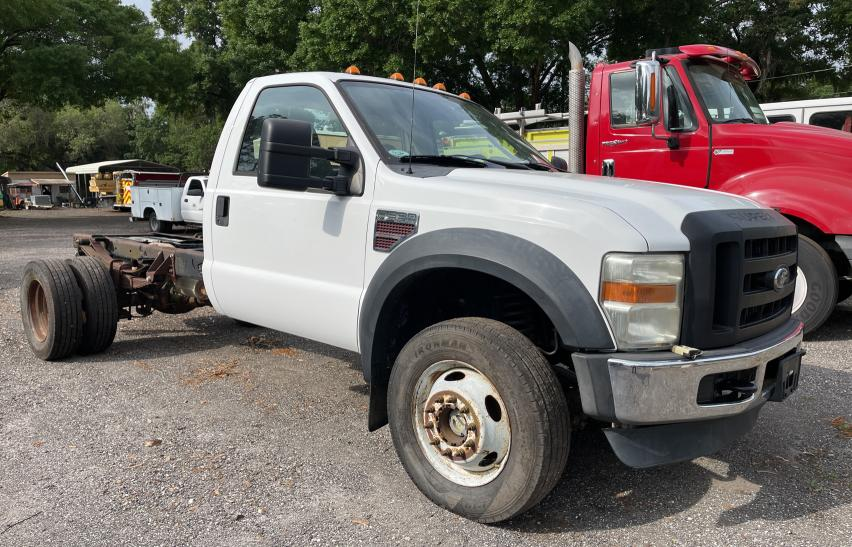 Salvage cars for sale from Copart Riverview, FL: 2009 Ford F550 Super