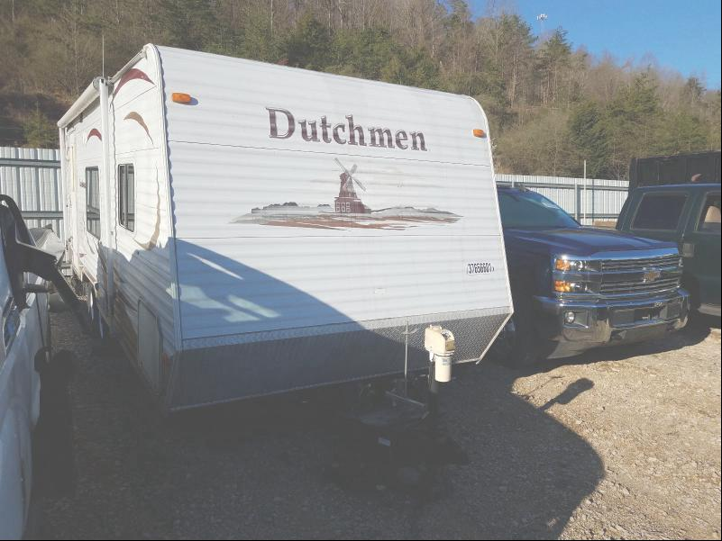 Dutchmen salvage cars for sale: 2008 Dutchmen 26 Sport