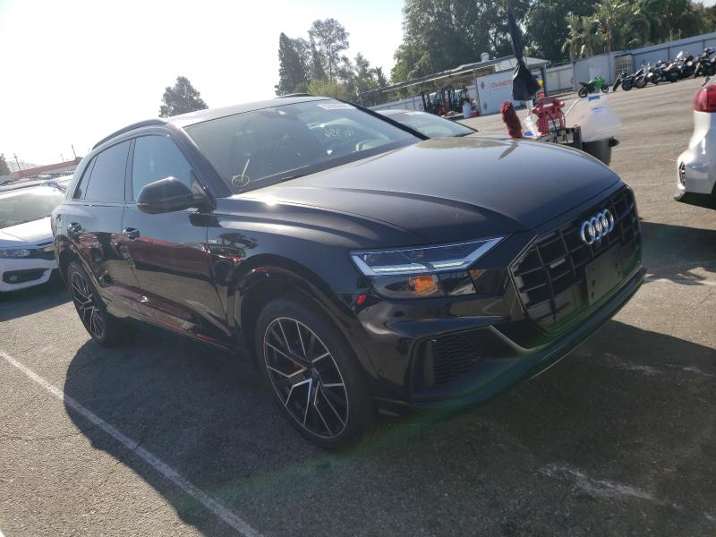 Audi Q8 Premium salvage cars for sale: 2019 Audi Q8 Premium