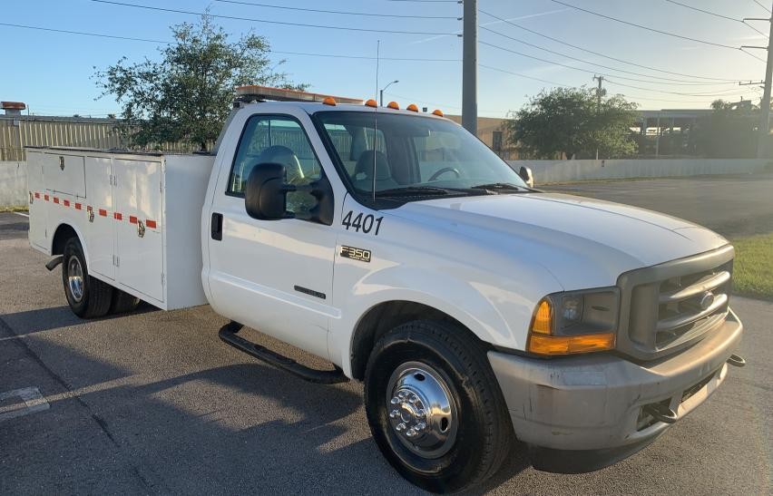 Salvage cars for sale from Copart Homestead, FL: 2001 Ford F350 Super
