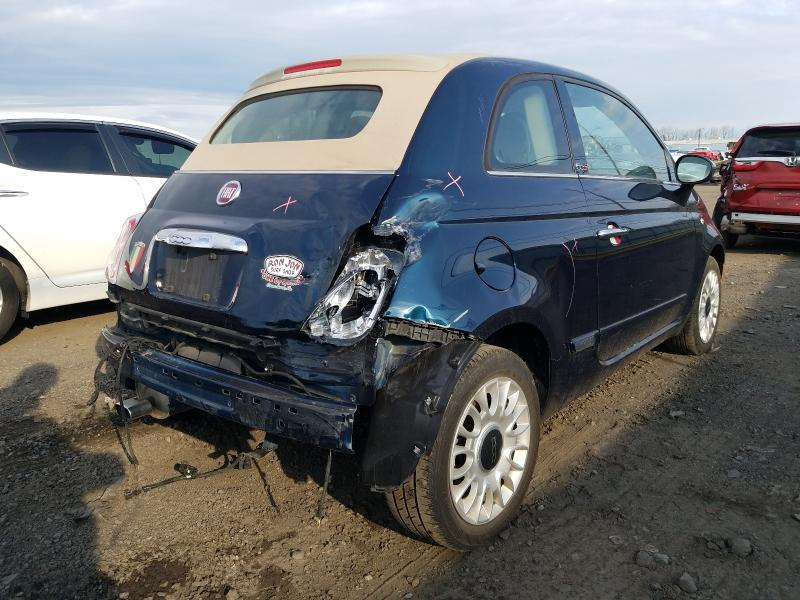 2015 FIAT 500 LOUNGE 3C3CFFER3FT643111