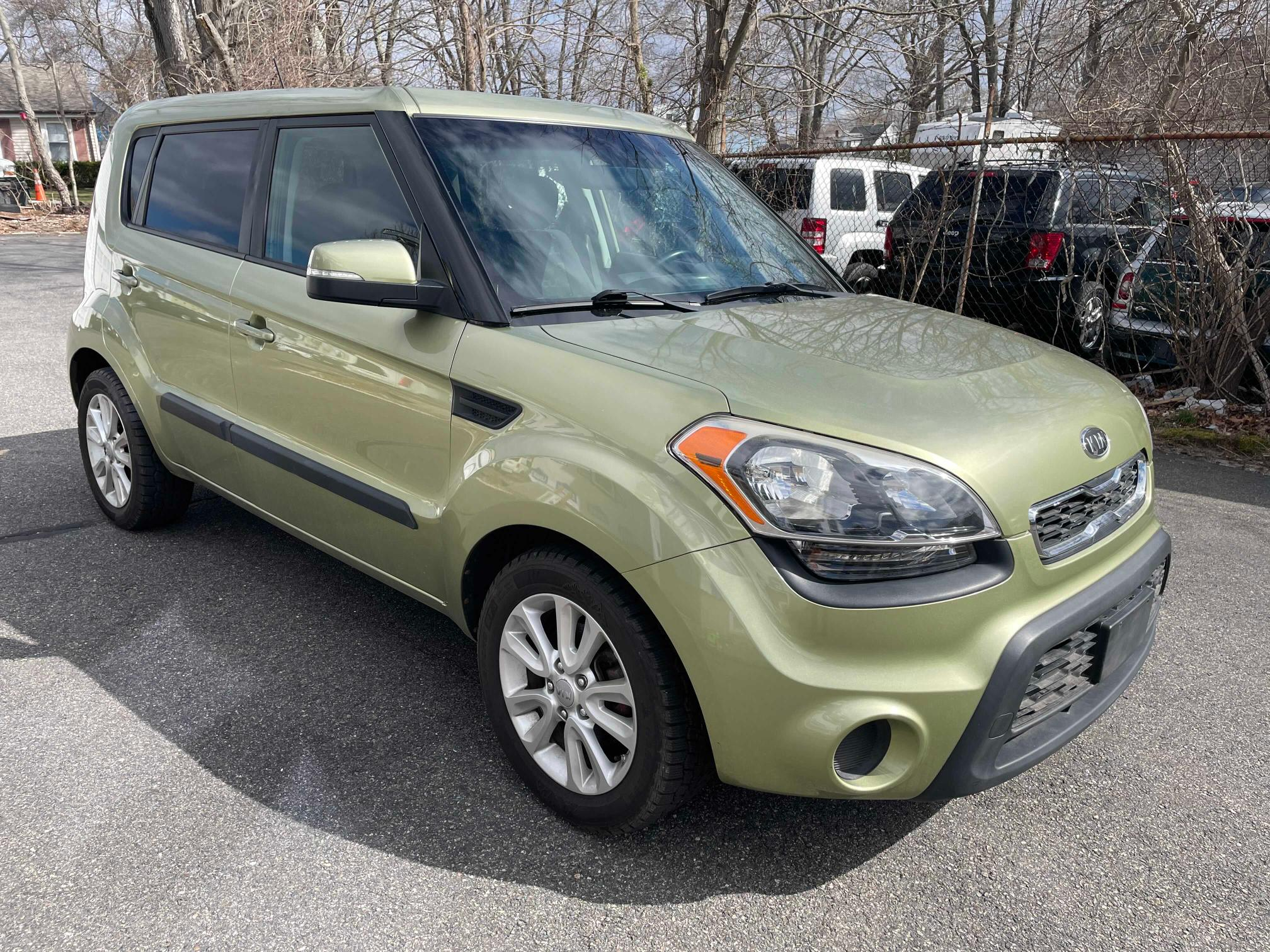 KIA salvage cars for sale: 2012 KIA Soul +