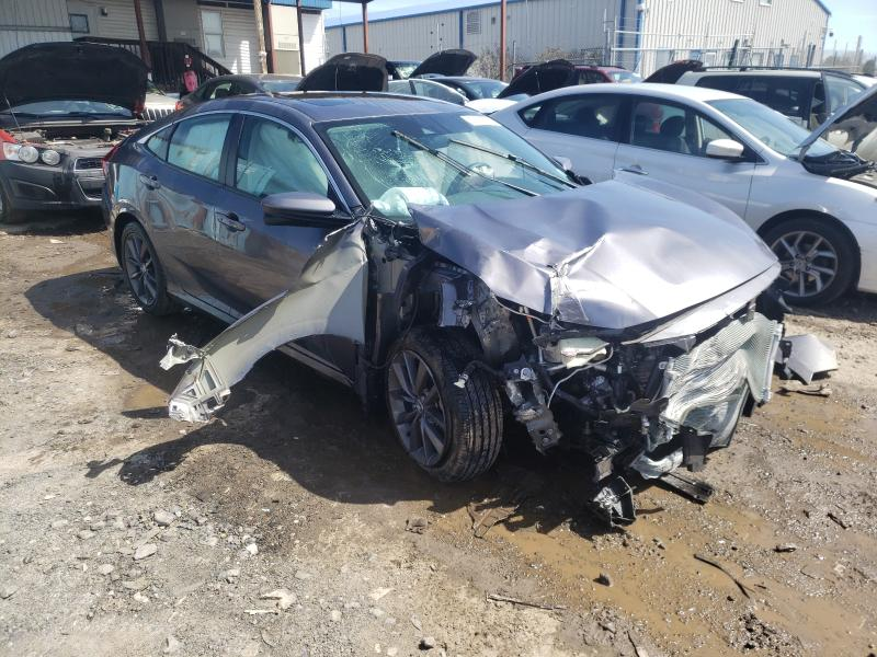 Salvage cars for sale from Copart Pennsburg, PA: 2020 Honda Civic EX
