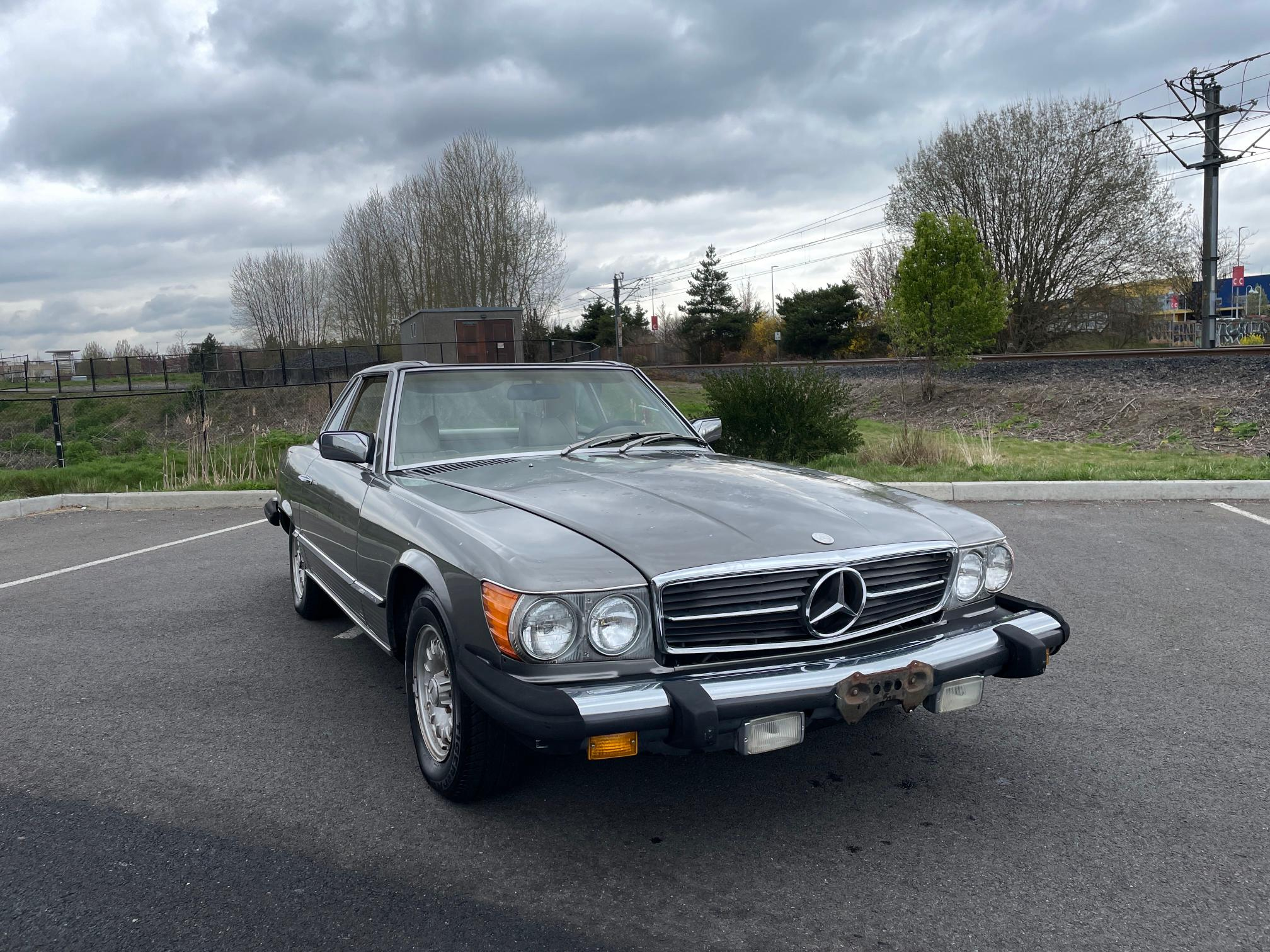 Mercedes-Benz 450 SL salvage cars for sale: 1978 Mercedes-Benz 450 SL