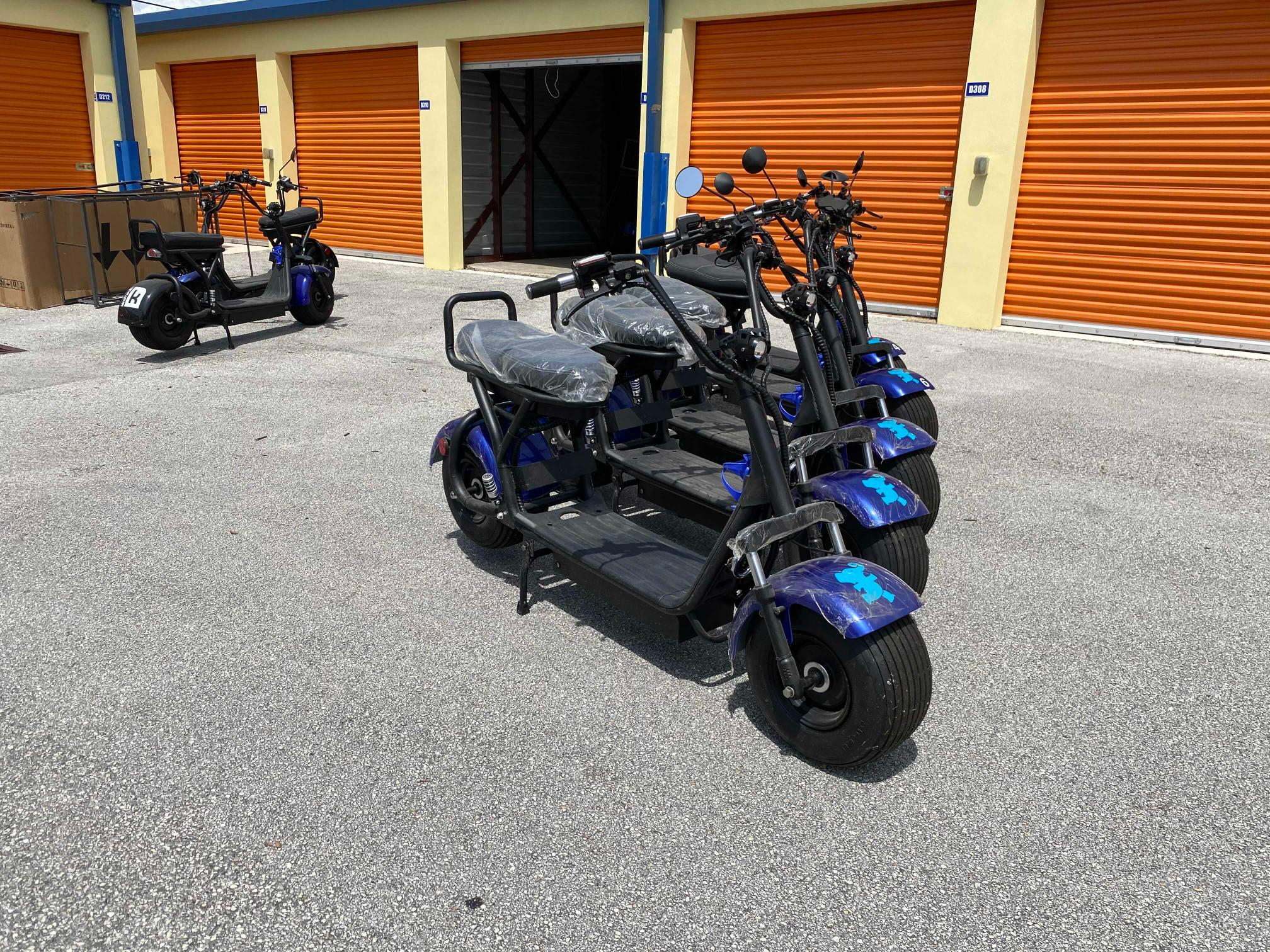 Salvage cars for sale from Copart West Palm Beach, FL: 2020 Other Scooter