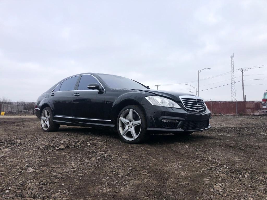 Salvage cars for sale from Copart Hammond, IN: 2008 Mercedes-Benz S 63 AMG