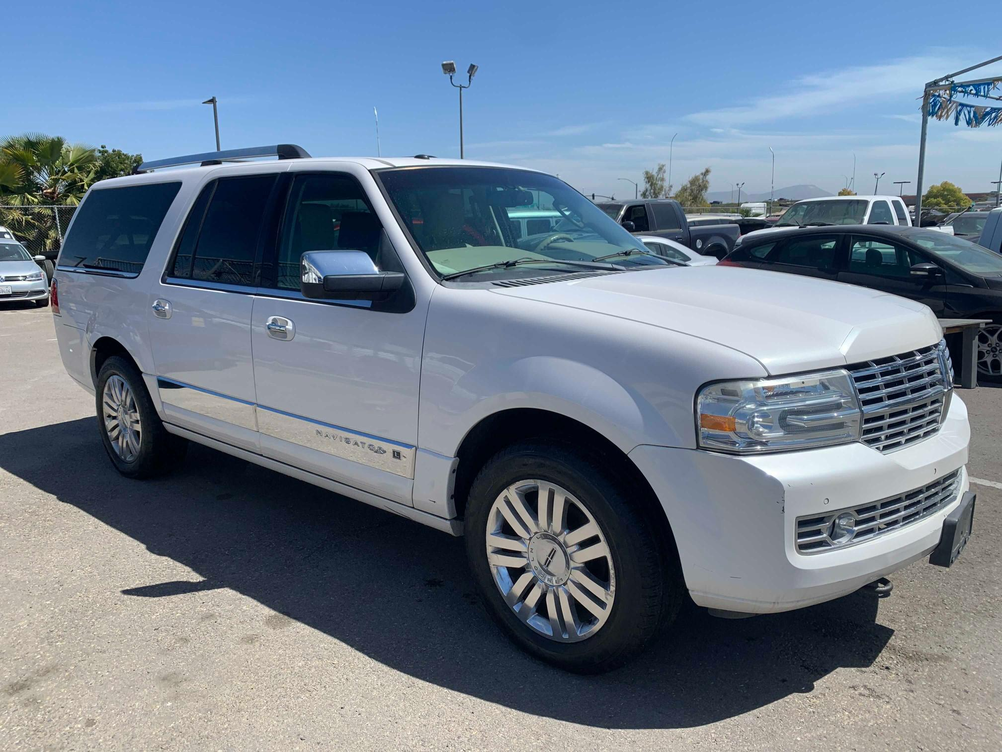 Lincoln salvage cars for sale: 2011 Lincoln Navigator