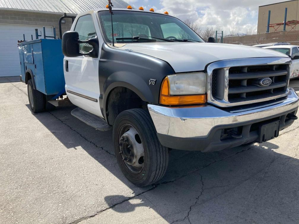 Salvage cars for sale from Copart Magna, UT: 2000 Ford F450 Super