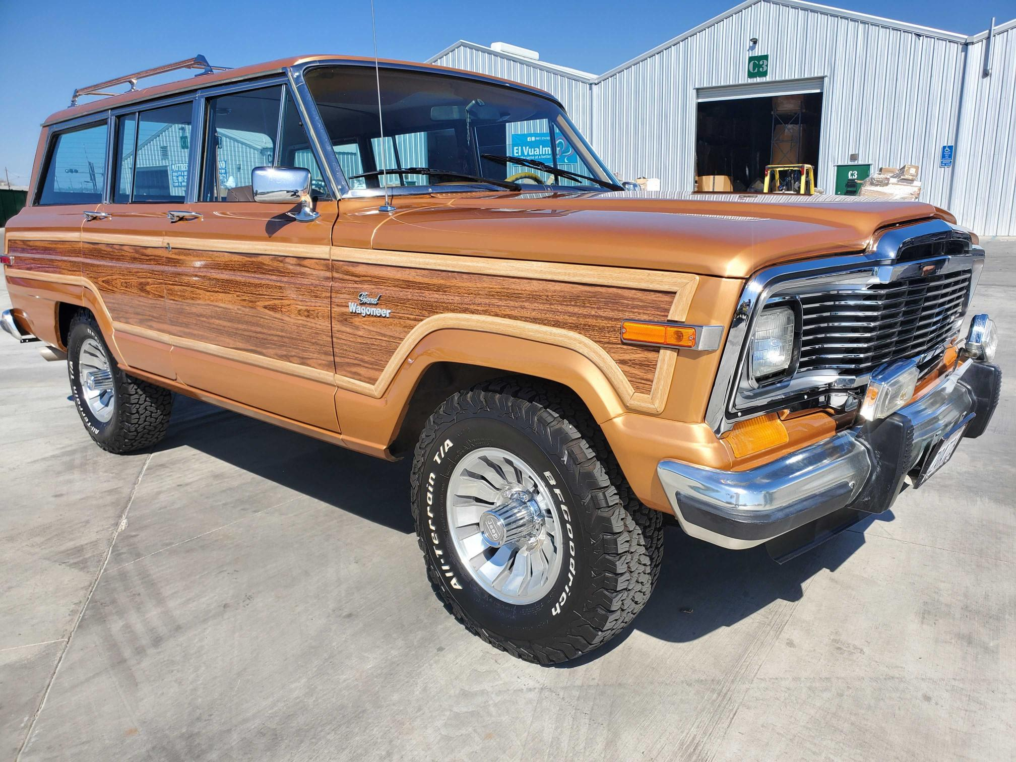 Jeep salvage cars for sale: 1984 Jeep Grand Wagoneer