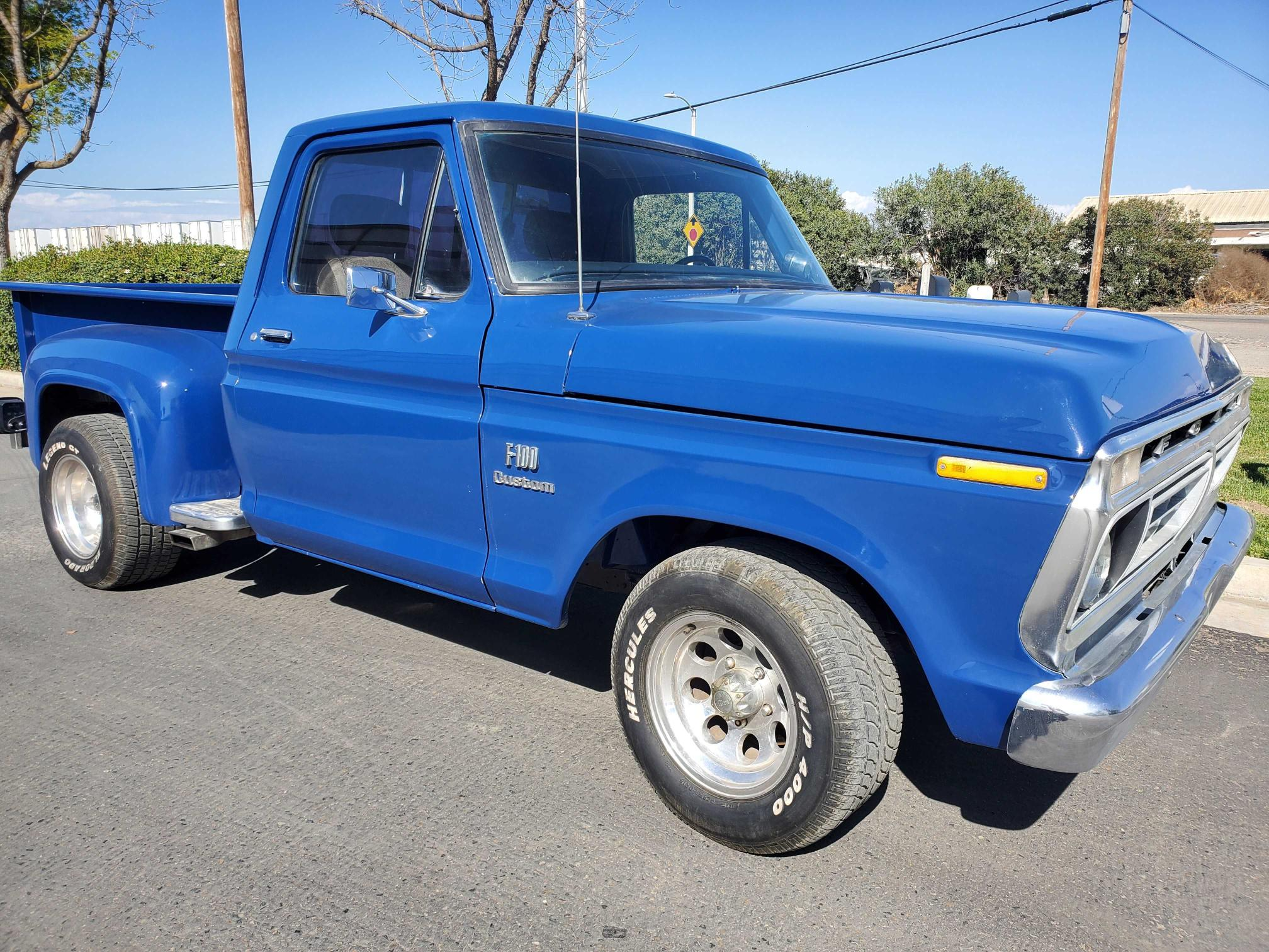 Ford Vehiculos salvage en venta: 1976 Ford F100 Custm