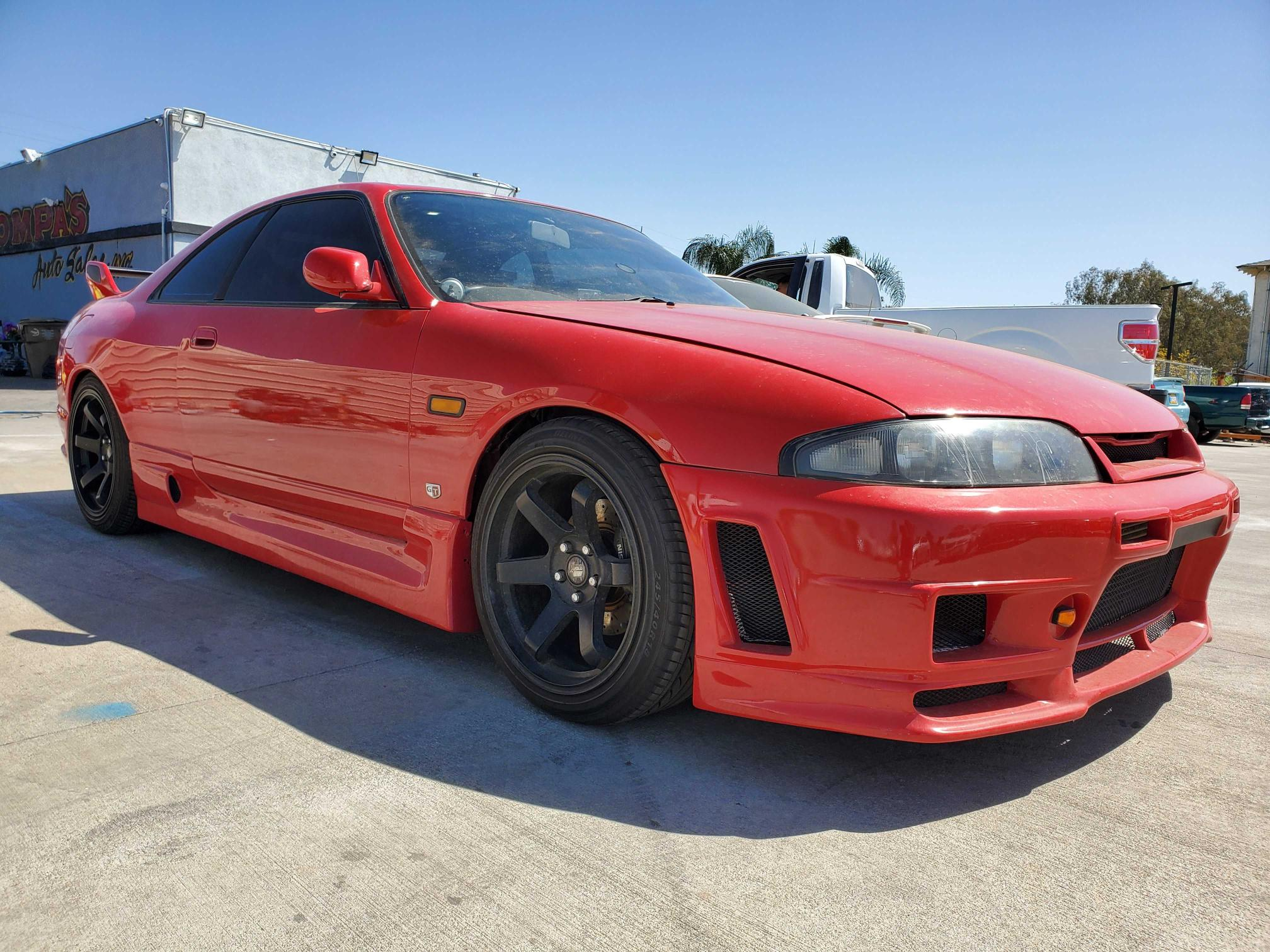 Nissan salvage cars for sale: 1993 Nissan Skyline GT