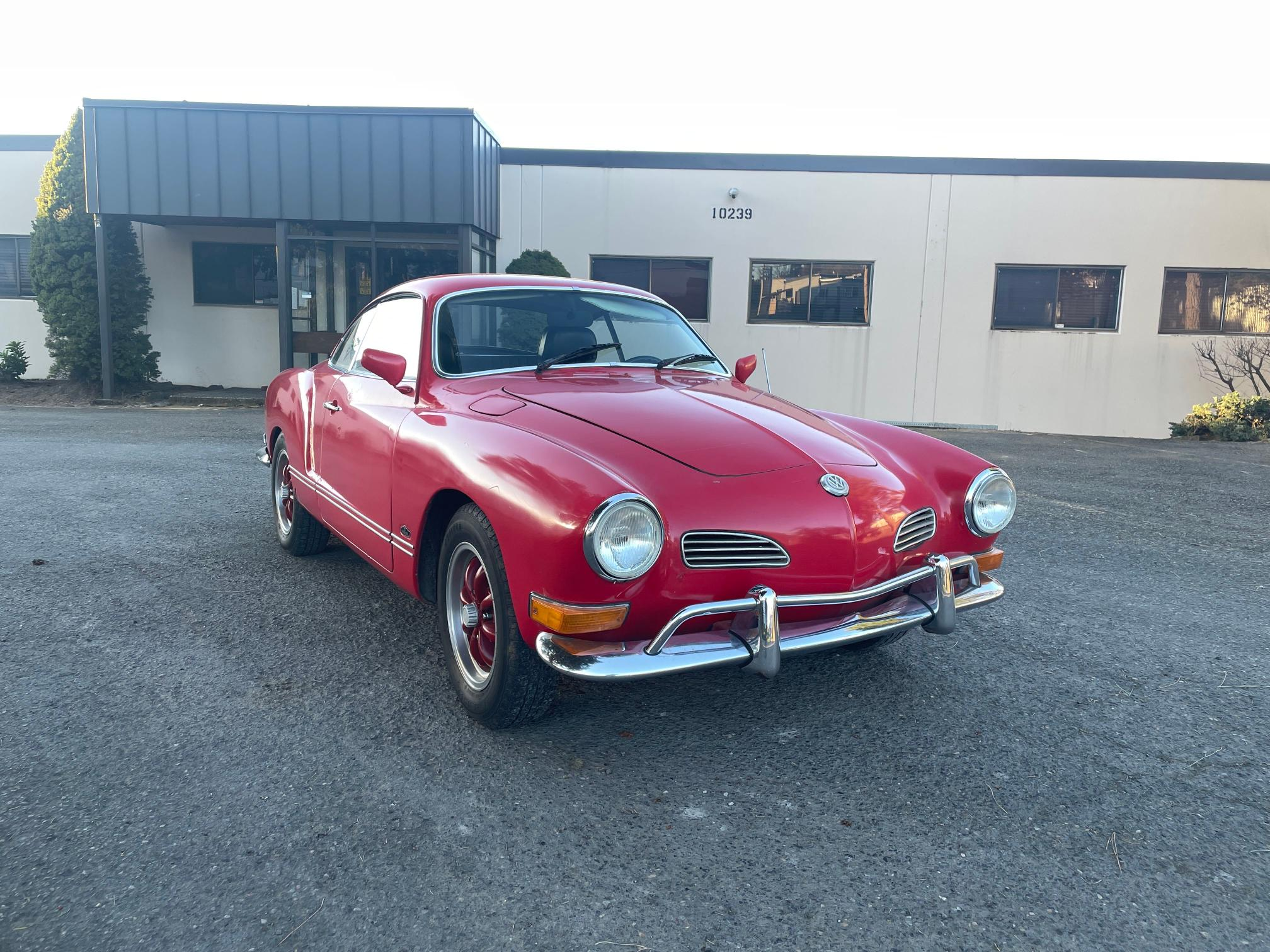 Salvage cars for sale from Copart Portland, OR: 1971 Volkswagen Karmann Ghia