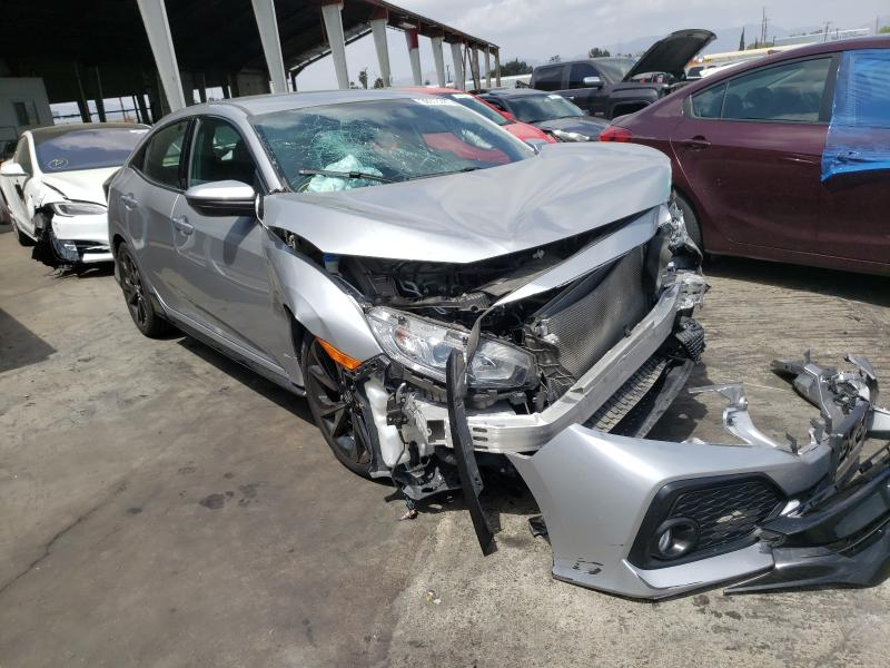 Salvage cars for sale from Copart Van Nuys, CA: 2018 Honda Civic Sport