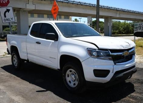 Salvage cars for sale from Copart Homestead, FL: 2019 Chevrolet Colorado