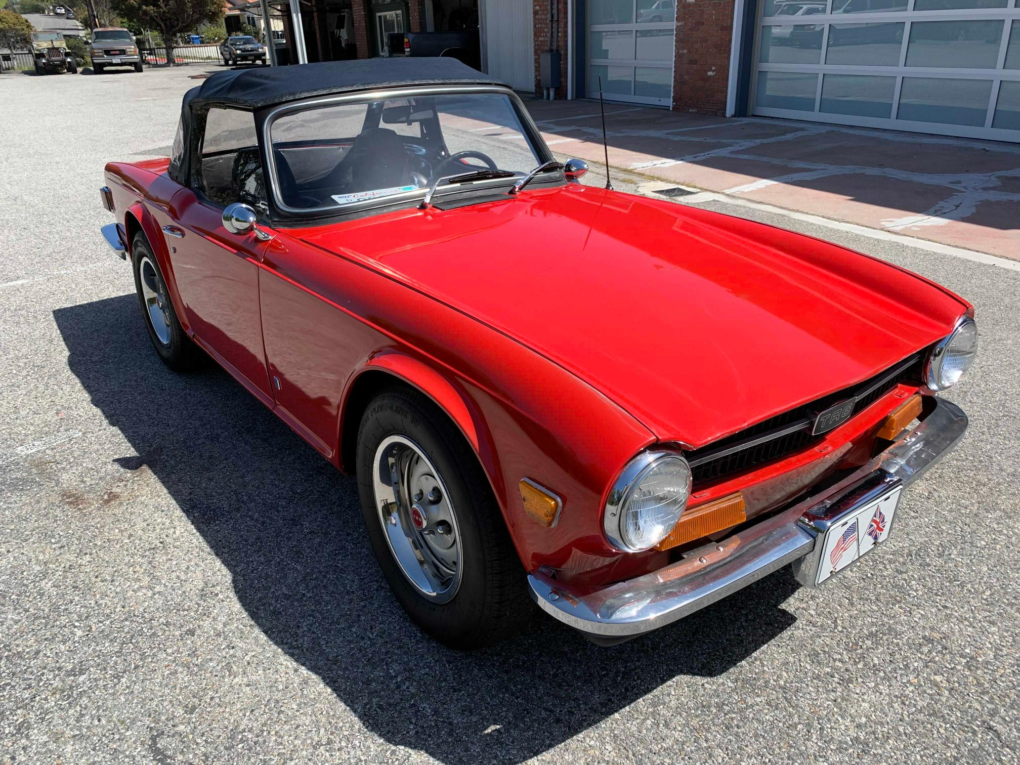 Triumph salvage cars for sale: 1974 Triumph TR6