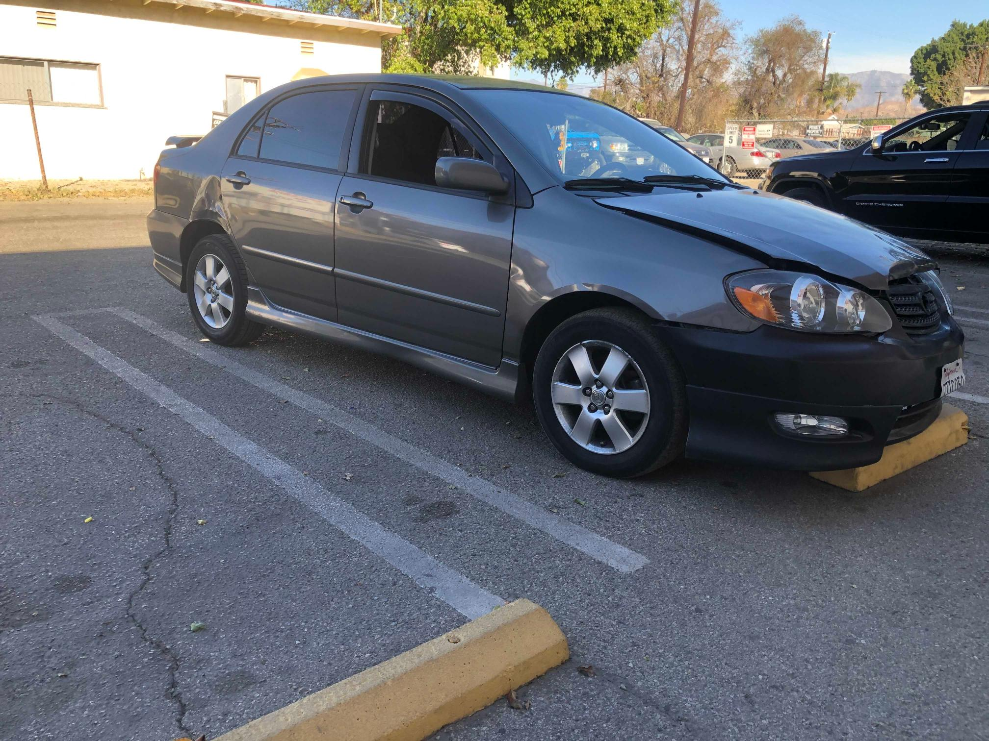 Salvage cars for sale from Copart Sun Valley, CA: 2008 Toyota Corolla CE