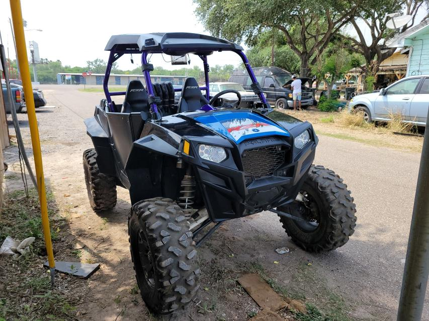 Salvage cars for sale from Copart Mercedes, TX: 2012 Polaris Ranger RZR