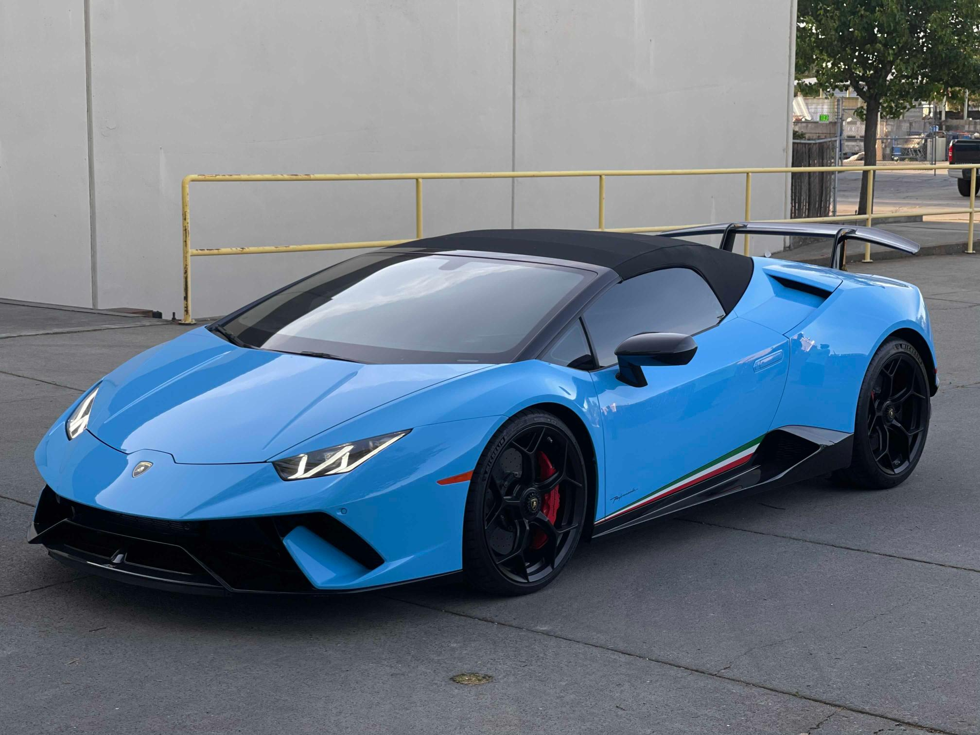 Lamborghini salvage cars for sale: 2018 Lamborghini Huracan PE