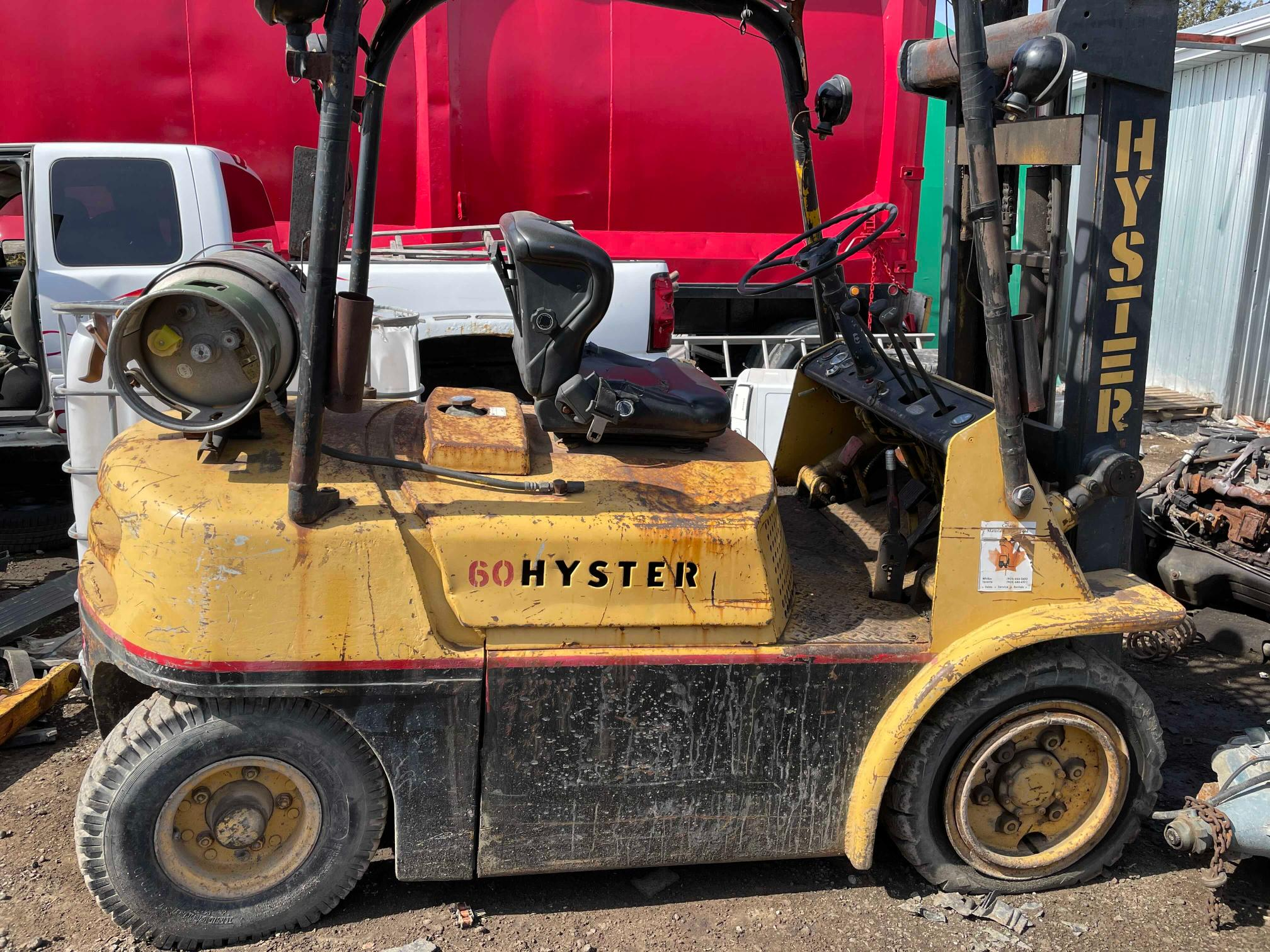 Global Auto Auctions: 1970 HYST FORKLIFT