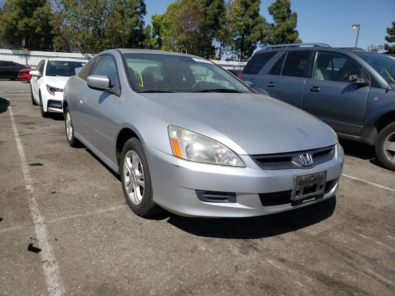 Salvage cars for sale from Copart Rancho Cucamonga, CA: 2006 Honda Accord EX