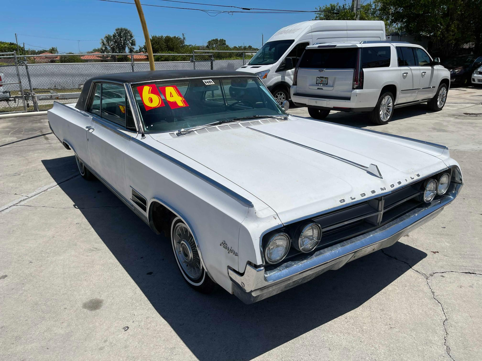 Oldsmobile salvage cars for sale: 1964 Oldsmobile Starfire