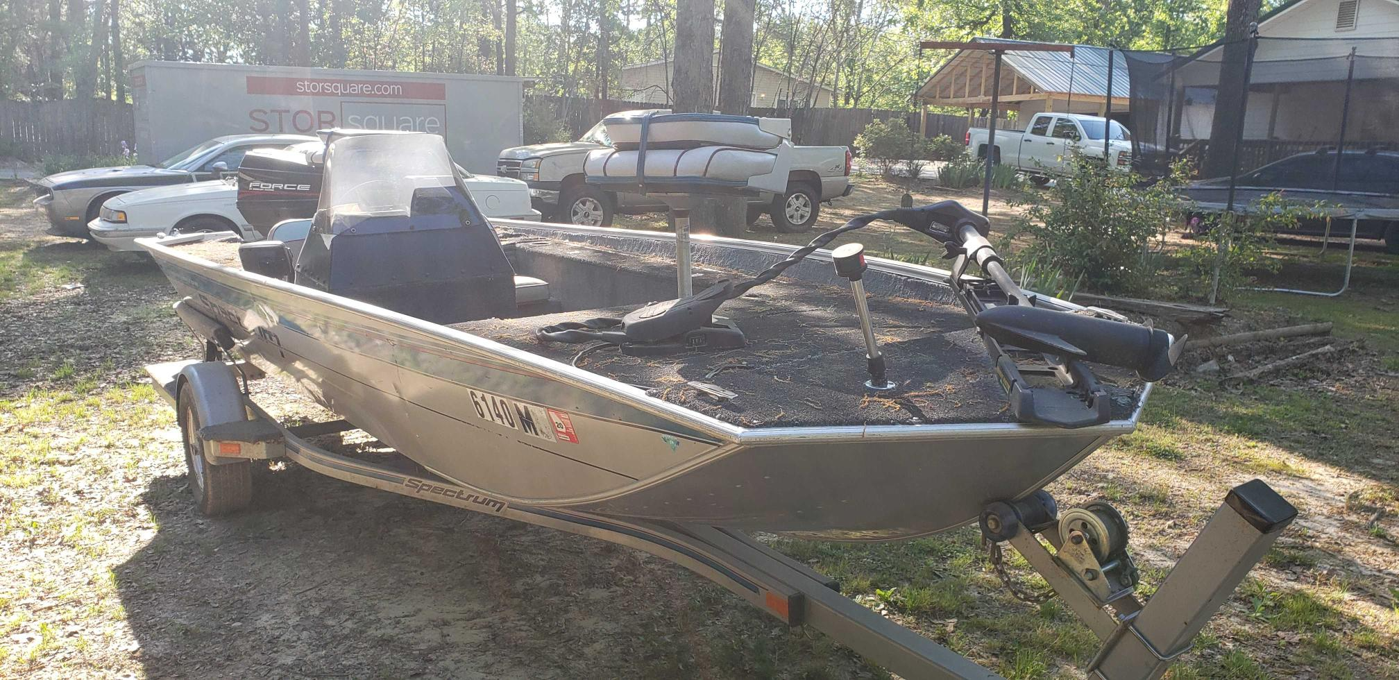 Spec salvage cars for sale: 1994 Spec Boat