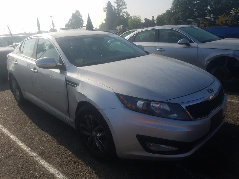 Salvage cars for sale from Copart Van Nuys, CA: 2012 KIA Optima LX