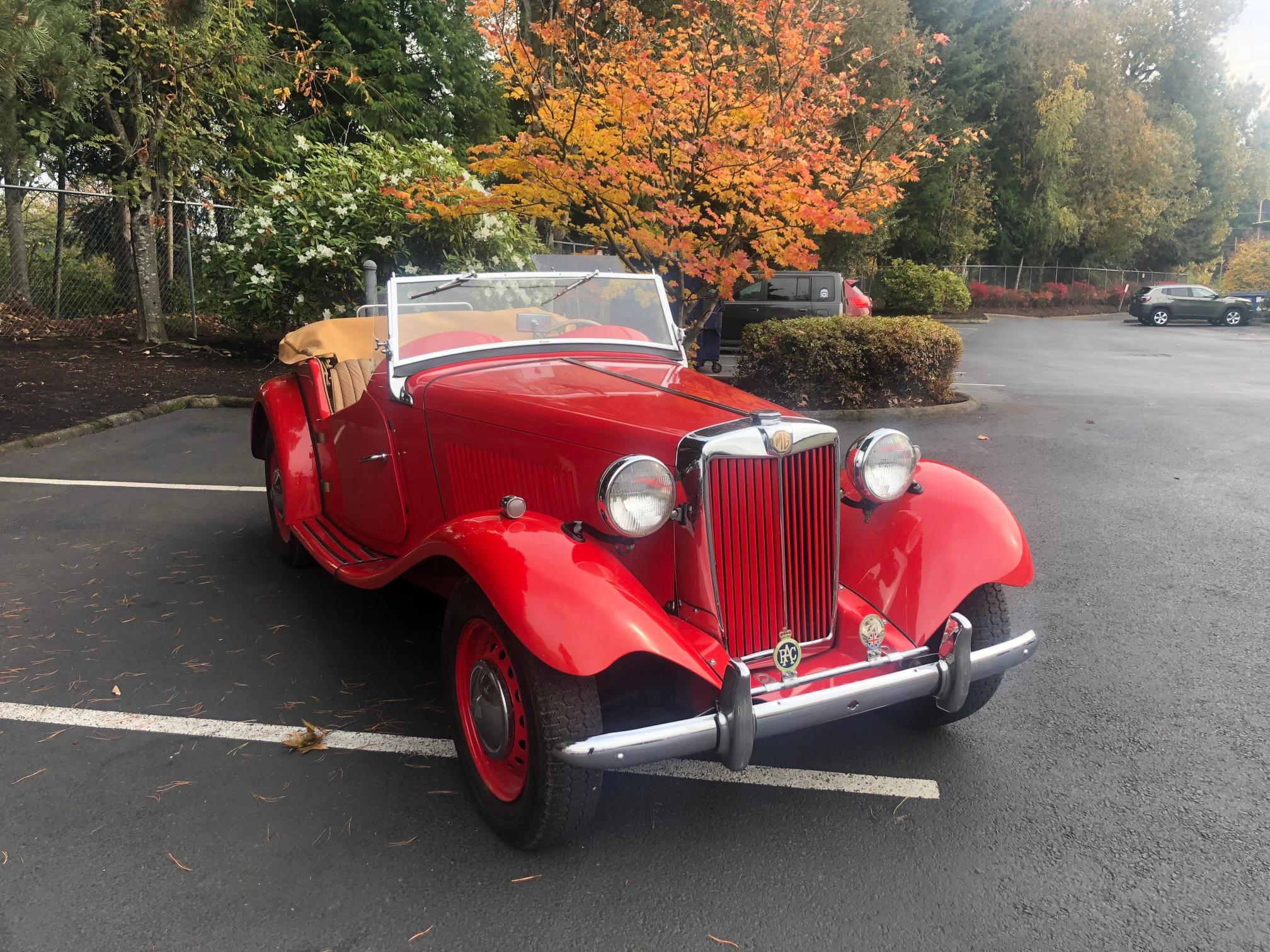 1951 MG TD for sale in Portland, OR