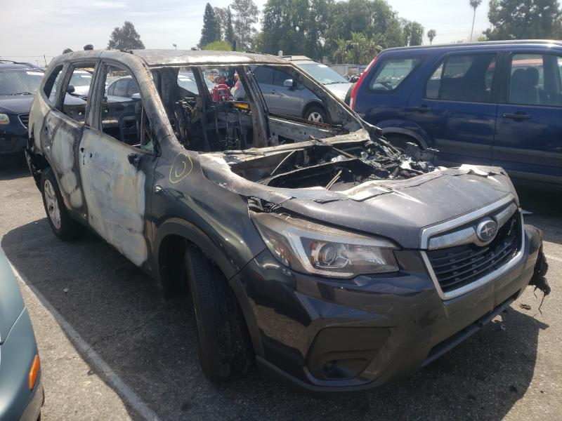 Salvage cars for sale from Copart Van Nuys, CA: 2019 Subaru Forester