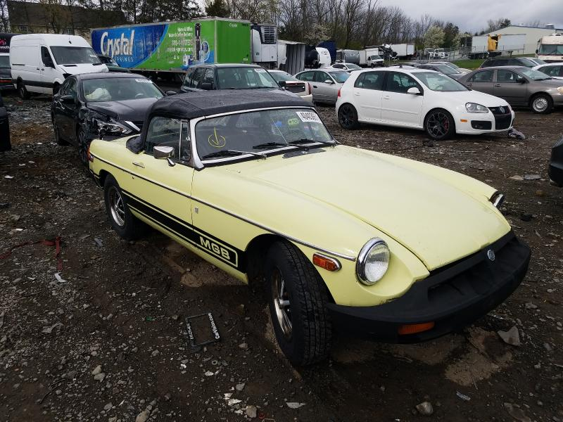 MG salvage cars for sale: 1977 MG MGB Conver