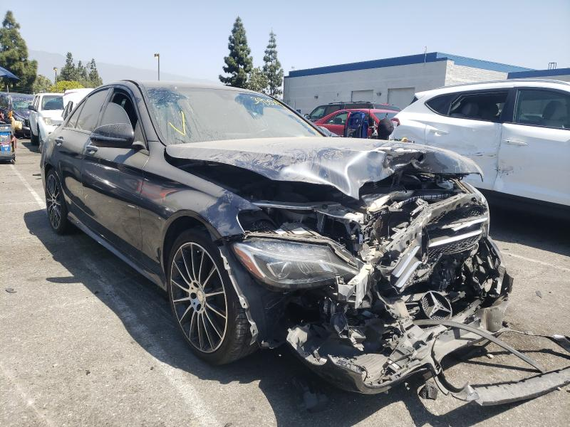 Salvage cars for sale from Copart Rancho Cucamonga, CA: 2016 Mercedes-Benz C300